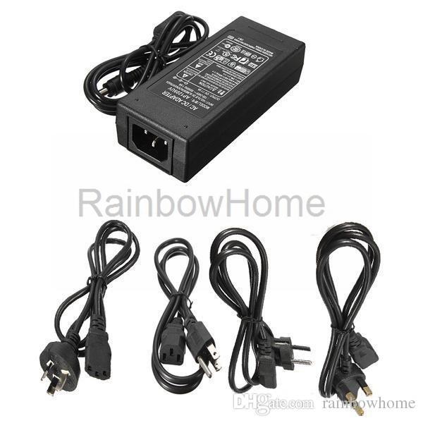 Adattatore di commutazione alimentatore CA 100 V 240 V CC 12 V 8 A 10 A 60 W 96 W 120 W LED Striscia LED Driver monitor + cavo di alimentazione