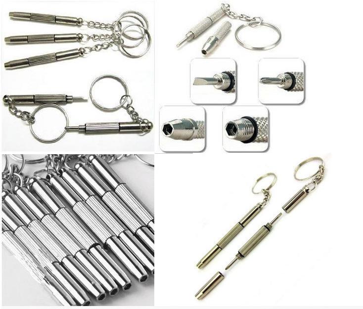 SPEDIZIONE GRATUITA Buona qualità Tripla versatile piccolo cacciavite 1000 pezzi / lotti riparazione occhiali riparazione strumento di riparazione del telefono applicabile