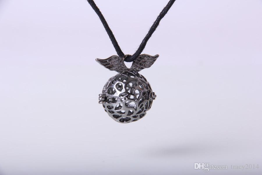 Chimes Pregnancy ball Baby Chime Harmony Ball Copper Metal Engelsrufer Pregnancy Ball in Pendants with chain