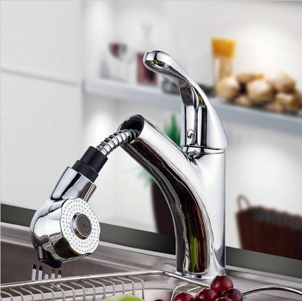 Badezimmer Waschbecken Spüle Küche ausziehen Hahn multifunktionale  Badezimmer Schrank Trigger Wasserhahn C3056