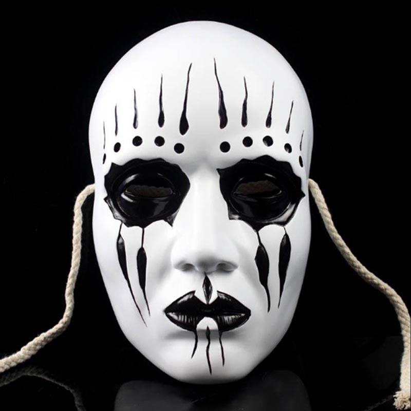 GN M012 Slipknot Joey Maske erkekler maske kadın maskesi cosplay maske kostüm maskesi korkmuş maske reçine maske