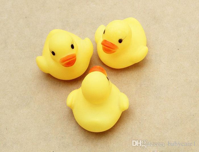 Горячая дюжина 12 резиновая утка Duckie Baby Shower Water toys for baby kids дети День Рождения сувенирная игрушка бесплатная доставка