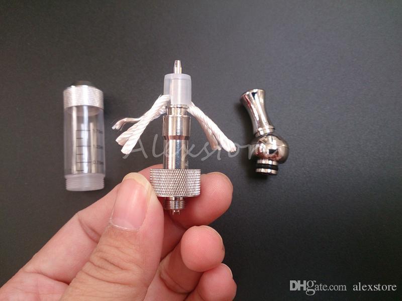 Vivi nova dct v2.0 clearomizer com ponta de gotejamento de metal rotatable vivinova rebuildablbe atomizador 2ml vaporizador de tanque dual coil PK iclear 30b 30
