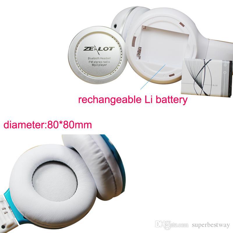 B-560 Bluetooth Headset Wireless Handfree MIC TF Slot FM Headphone For Apple Samsung Galaxy Phones DHL Free EAR174