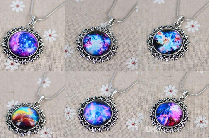 Wholesale women men necklace galaxy nebula space antique silver wholesale women men necklace galaxy nebula space antique silver glass dome pendant necklace friendship bff necklace astronomy geek jewelry coin pendant aloadofball Image collections
