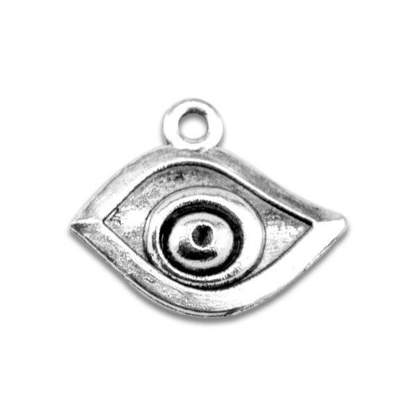 vintage evil eye religious charm