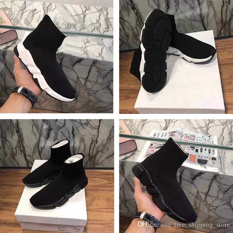 clearance online cheap real 2018 new Black Sock Booties Sports Running Shoes Training Sneakers Shoes Speed Knit Sock High-Top Training Sneakers Dropshipping Accepted new styles online cheap sale collections e1VBHUT