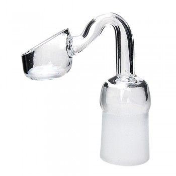 Feminino Quartz Banger prego Quartz prego Rig baldes Oil Quartz Banger prego 10 milímetros 14,5 milímetros 18,8 milímetros Conjunto de vidro da tubulação de água