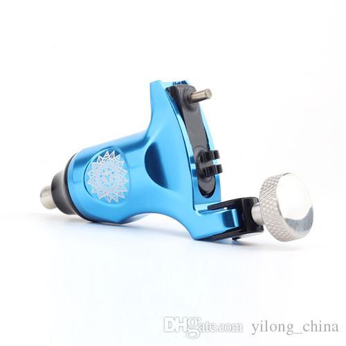 New Professional Blue Color Rotary Tattoo Machine RCA For Shader & Liner Tattoo Machine Gun