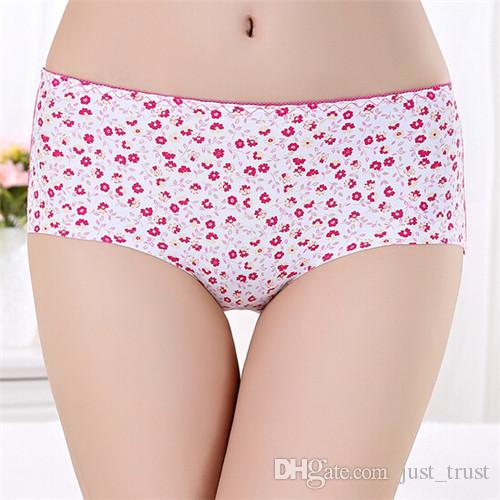 Hot Sales Sexy Printed Seamless Panties Womens Lady Girls Knickers Briefs Lingerie Underwear fashion Leopard Underpants
