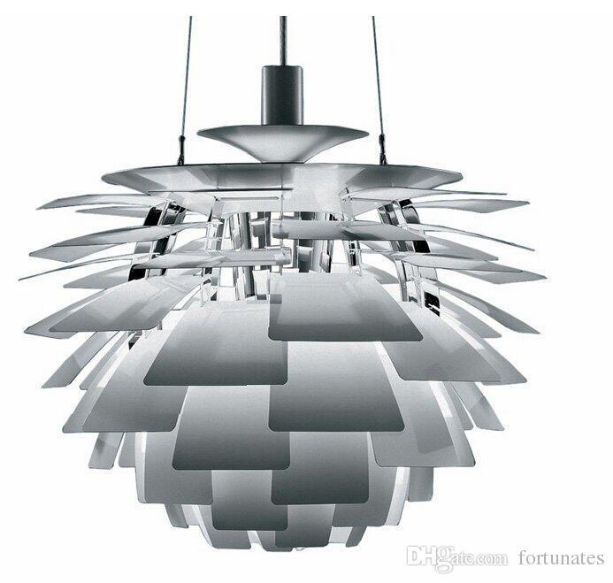 Repllica Dia 60 70cm Lighting Fixture Louis Poulsen Ph Artichoke Pendant Lamp White Denmark Modern Suspension Lights Fixtures