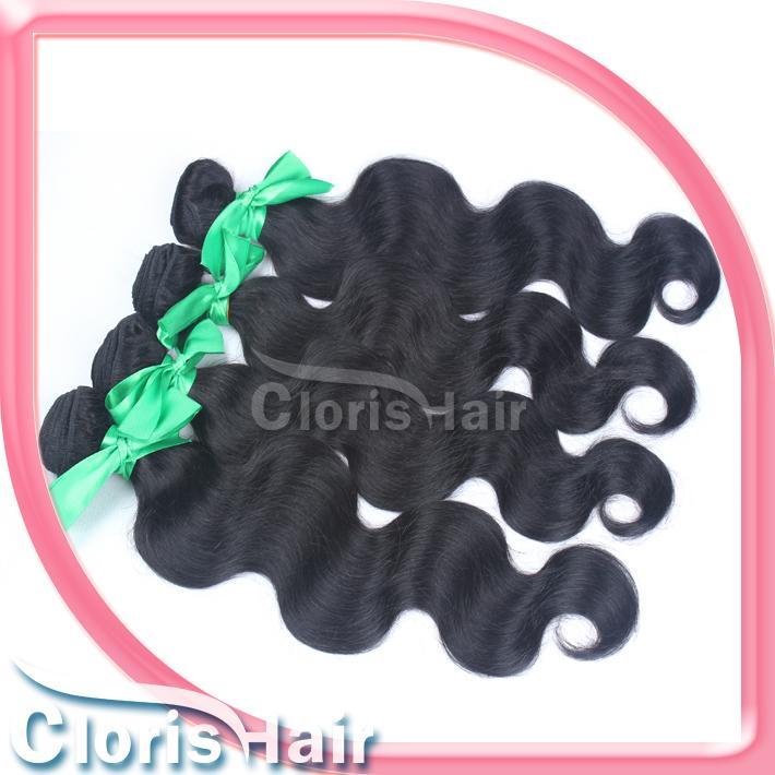원시 인도 버진 머리카락 1 묶음 처리되지 않은 바디 웨이브 헤어 위브 싸게 젖은 레미 인간 헤어 익스텐션 도매 온라인