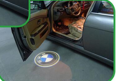 손상 없음 무선 자동차 도어 라이트 고스트 라이트 환영 라이트 프로젝터 환영 램프 고스트 섀도우 라이트 BMW 3 5 6 7 X6 gt