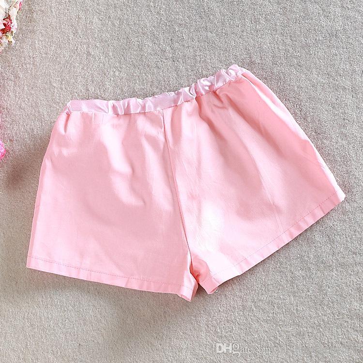 Mode enfants filles or paillettes shorts filles paillettes shorts bling bling hot pants Bow shorts princesse or rose vif choisir