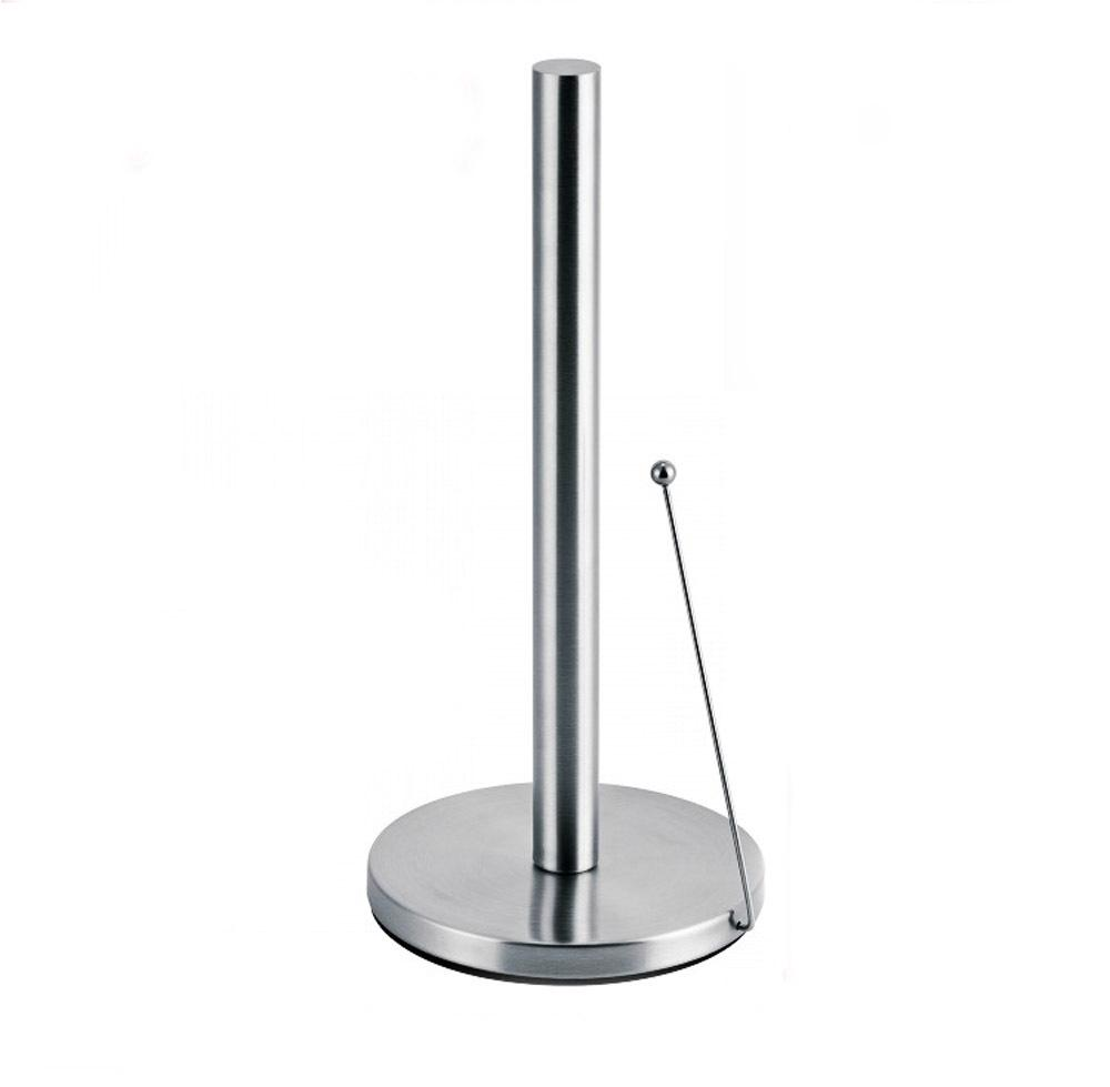 stainless steel upright paper towel holder countertop  - see larger image
