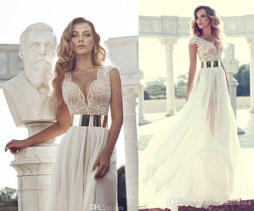 Discount 2015 Winter Wedding Dresses Ivory Color Formal