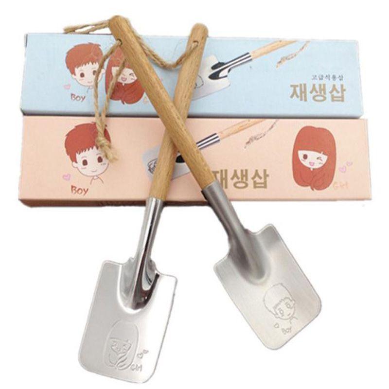 2 stücke Paar Edelstahl Quadrat Löffel Geschirr Tee Kaffeelöffel Teelöffel Eis Besteck Küche Werkzeug
