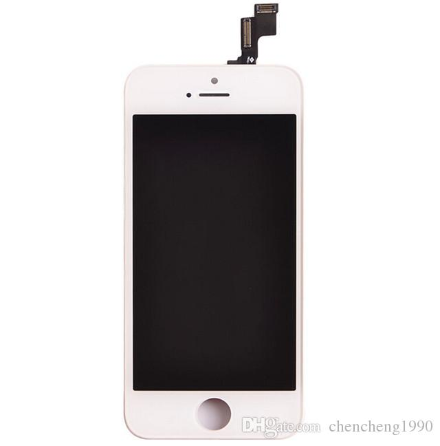 Brand New For iphone 5 5g 5s 5c Tianma LCD A+++ No dead pixels Quality LCD Display With Touch Screen Digitizer Assembly DHL Free