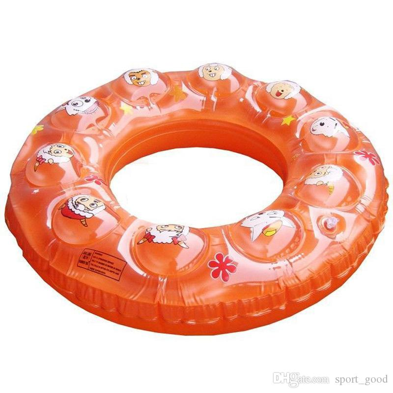 Inflatable life buoy life jacket swim ring adult thickened pvc swim ring swimming life vest ring buoy for sale