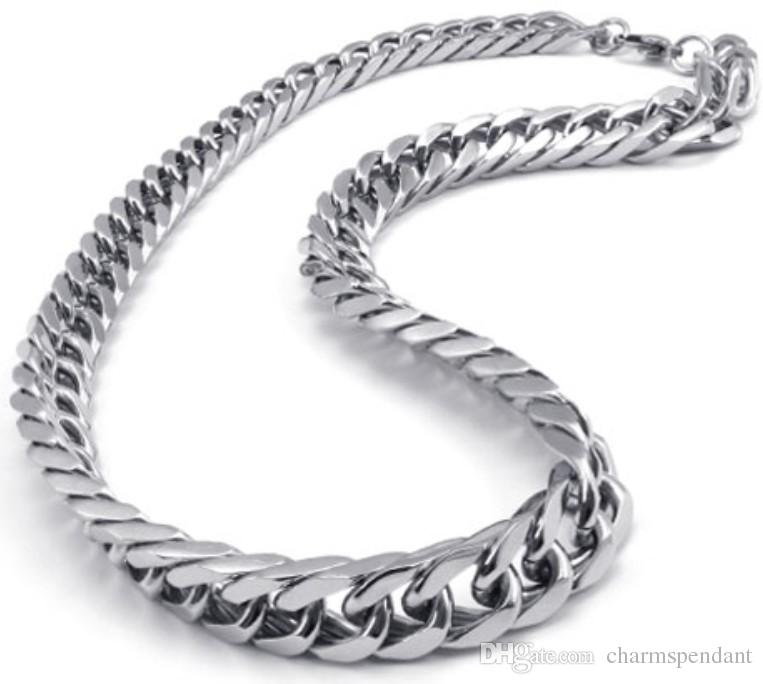 Asian east indian style 316l stainless steel miami cuban for East indian jewelry online