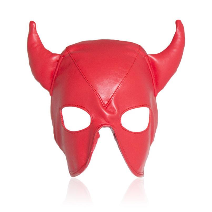 Red Adult Hood Bondage Restraint Devil Mask Fetish Cosplay Ox Horn Sex Mask  Fetish Adult Game Flirting Sex Toys For Couples Men 171001 Free Online Games  No ...