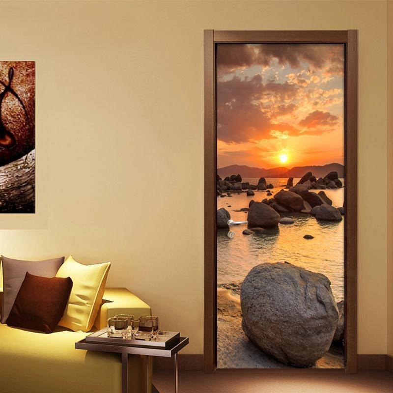 Diy 3d Wall Sticker Mural Bedroom Home Decor Poster Pvc Beauty ...