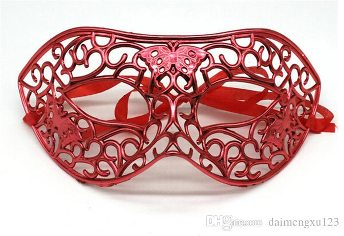 new 6 designs Hollow out mask Greco-Roman Gladiator masquerade masks Vintage Mask Carnival Mask Halloween Costume Party Mask D461