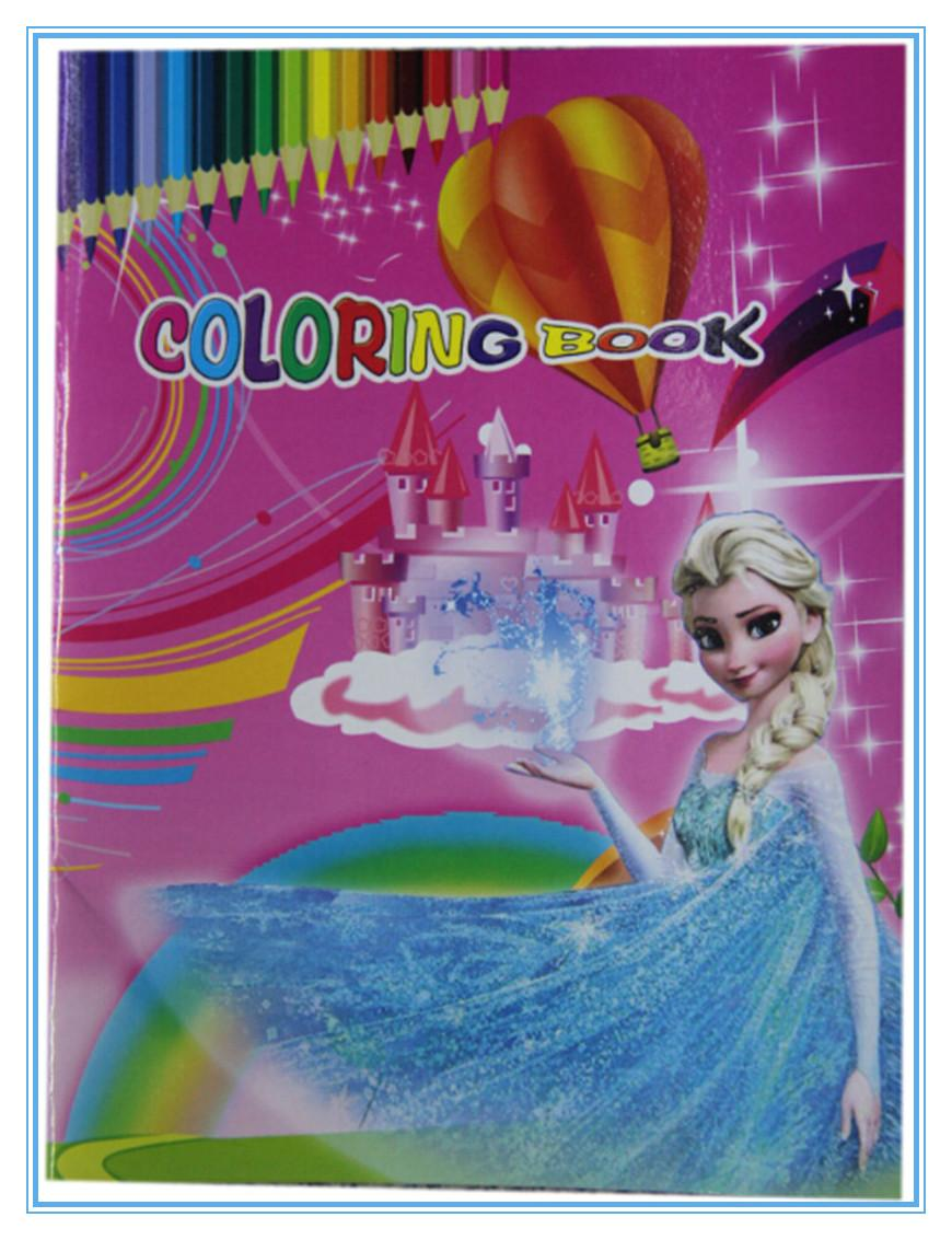 Frozen Coloring Books And Stickers