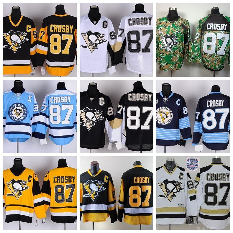 29cb2d148 Pittsburgh Penguins 87 Sidney Crosby 2014 Stadium Series White Jersey 2017  Factory Outlet