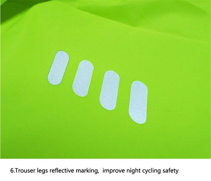 2017 traspirante antivento ciclismo Jersey insiemi Jacket Uomo Donna Sport Outdoor Breve vestiti asciutti MTB Bike avvolgono il cappotto windcoat biciclette Set