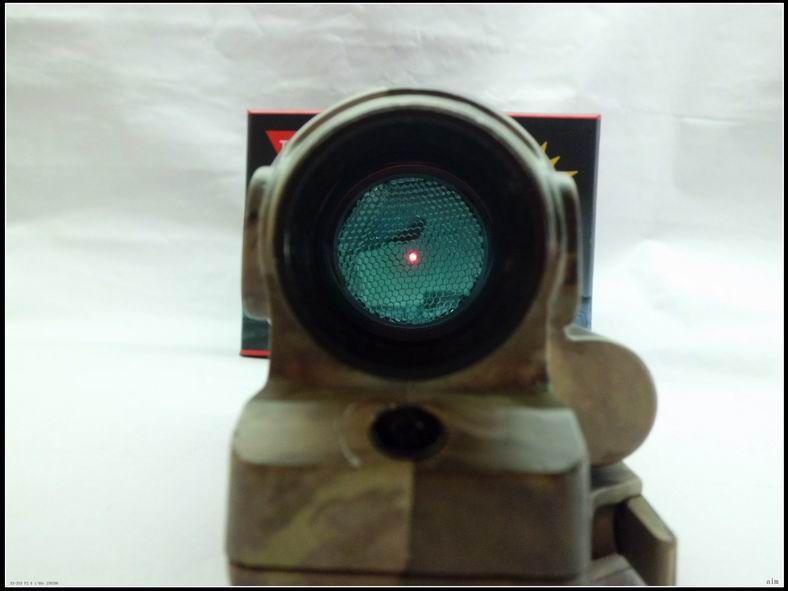 Taktisk jakt skytte Airsoft HOLOSIGHT SRS TRIJICON 1X38 SEALED REFLEX SIGN RED DOT Räckvidd med QD Mount Gratis frakt