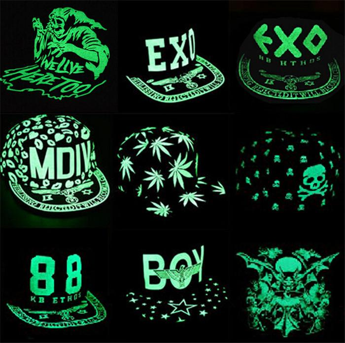 NEW arrive best price luminous flat hat hip-hop style fluorescence cap baseball cap Snapback Baseball Hats Caps for baby D258