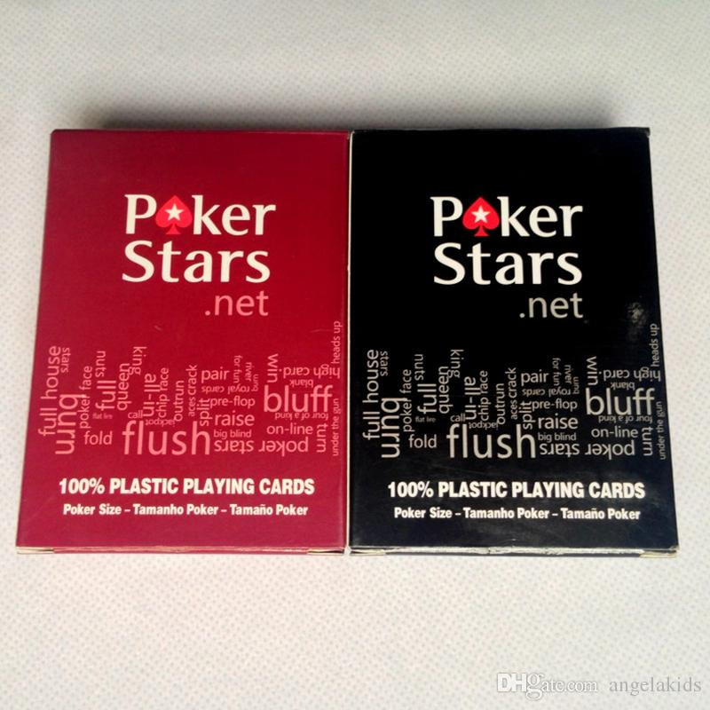 2 LetsPlastic playing card game Texas Holdem poker cards Waterproof and dull polish poker star Board games
