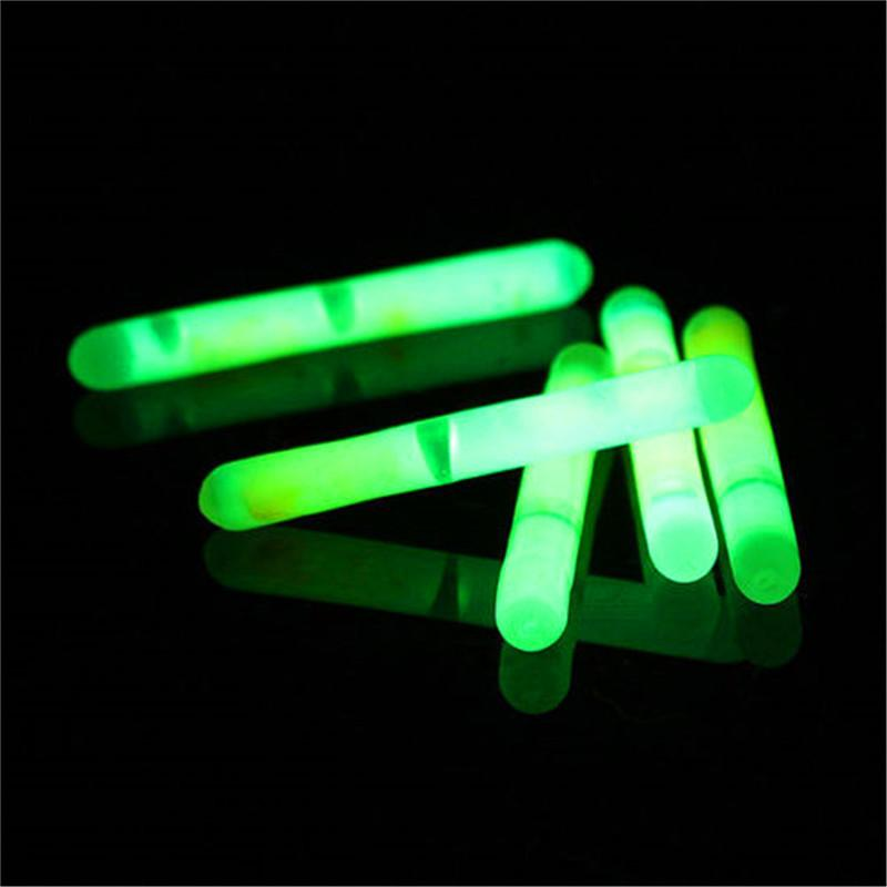 2018 new fluorescent fishing lights night glow in the dark for Glow in the dark fishing pole