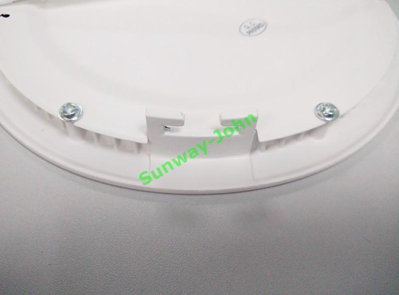 Ультратонкие круглый квадрат LED светильники 4w 6w 9w 12w 15w 18w 21W встраиваемый светодиодный свет панели SMD2835 LED потолка вниз фары лампы