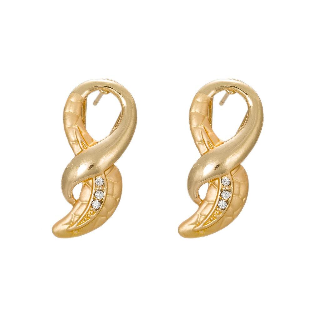 2018 2017african Costume Jewelry Earring Dubai Gold Color Fashion
