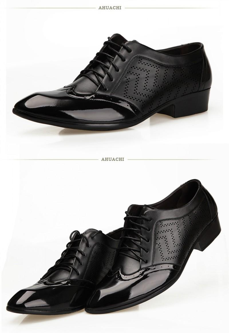 9ed591891da9 2015 Italy Black Men PU Leather Shoes Men s Casual Shoes Round Toes Wedding  Shoes Breathable Cut-outs Mens Wedding Shoes Prom Dress Shoe Men Wedding  Shoes ...