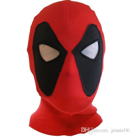 deadpool mask jla balaclava halloween costume party cosplay x men hooded cap adults children hat terror cartoon full face mask gift red masquerade mask - Halloween Costumes With A Masquerade Mask