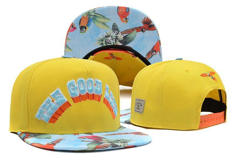 The Good Life Poll Parrot Cayler   Sons Snapback Cap Hats For Men   Women  With Yellow Classic Adjustable Baseball Caps 59fifty Snapback Cap From  Tsxm 2f99f0ae698b