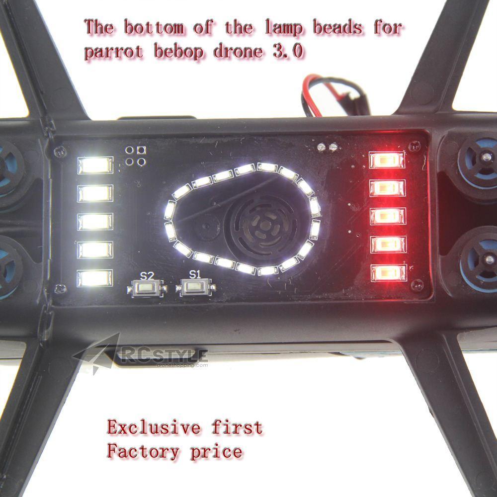 Wholesale Parrot Bebop Drone 3 0 bottom of the lamp beads Indicator lights  camera headlight First Original