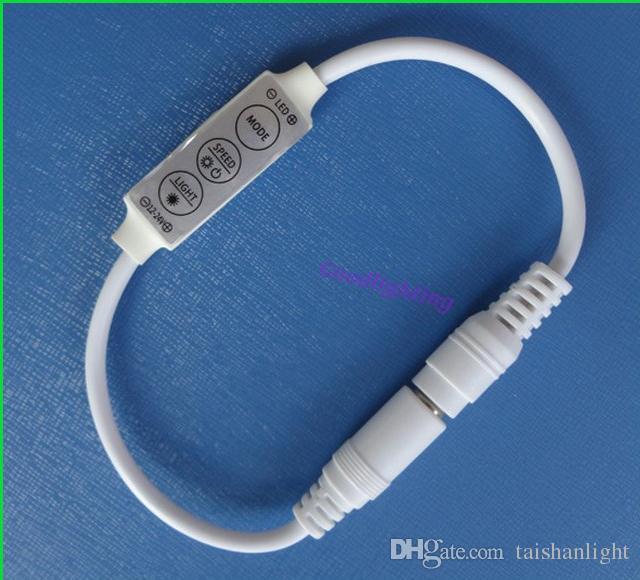 Mini LED Controller Dimmer 3 Klucz do pojedynczego koloru LED Strip SMD 3528 5050 DC 12V White 144W Darmowa wysyłka