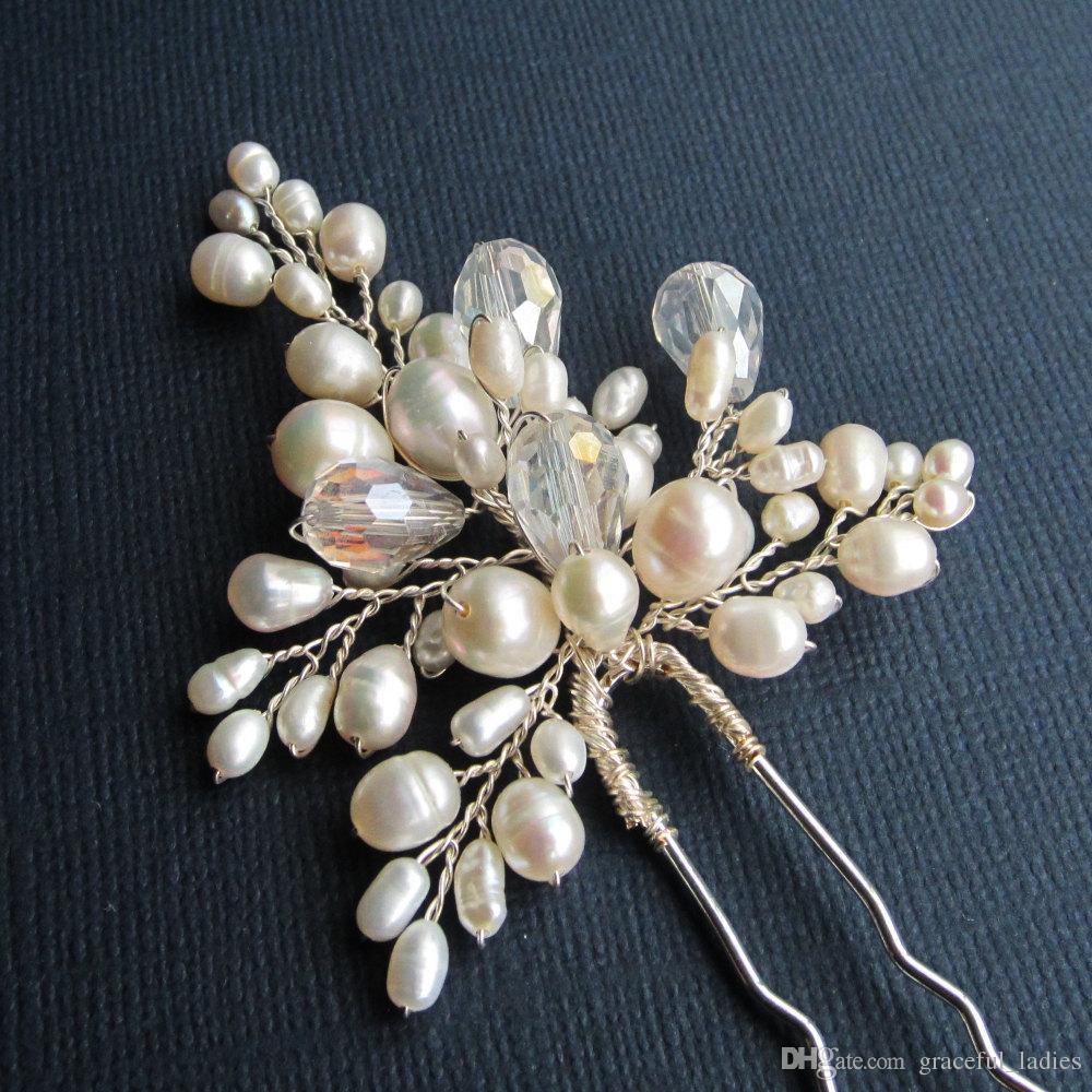 Wedding accessories pearls flowers pearls - 5