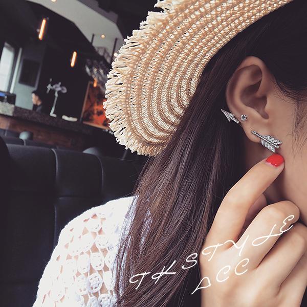 Ohrringe für Frauen Günstige Ohrstecker für Frauen Großhandel Modeschmuck Silber Neue Koreanische Ohrring Ohrstecker Pack