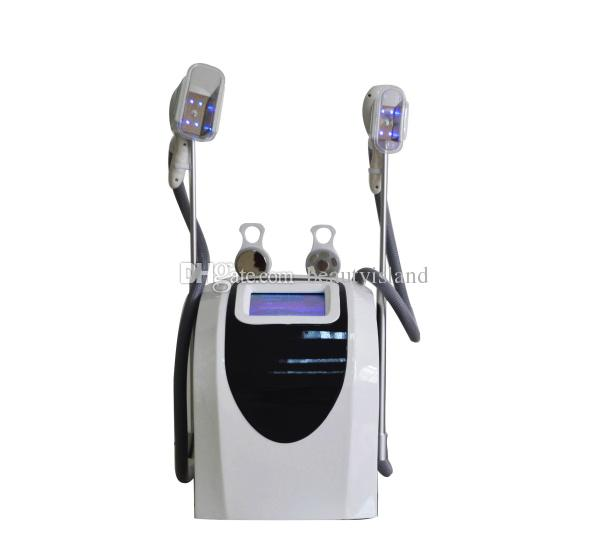 портативный кавитация РФ двойные ручки замораживания жира машина для дома и салон