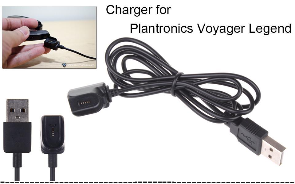 Plantronics의 보이저 레전드 블루투스 충전 케이블의 교체 USB 충전기