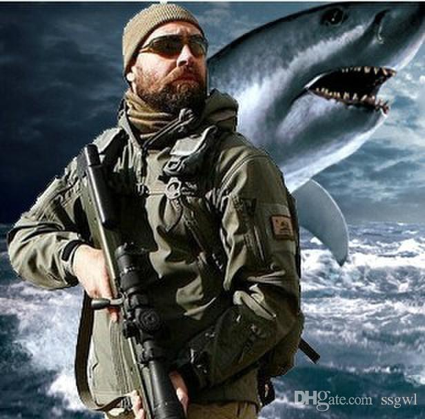Tad Stealth Shark Skin Waterproof Military Outdoors Jacket