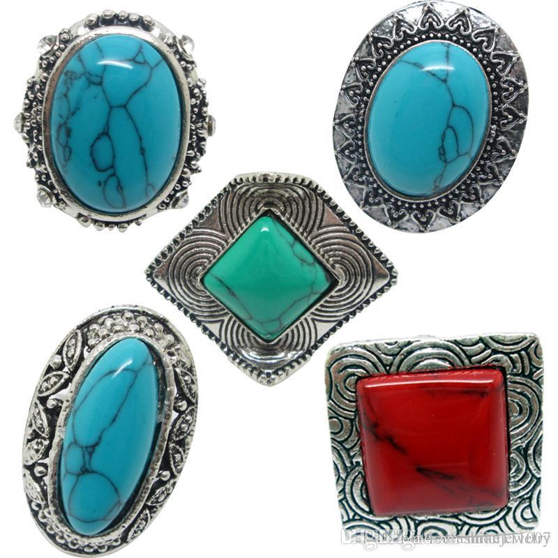 natural discovered ring stone silve handmade turquoise goods rings sterling