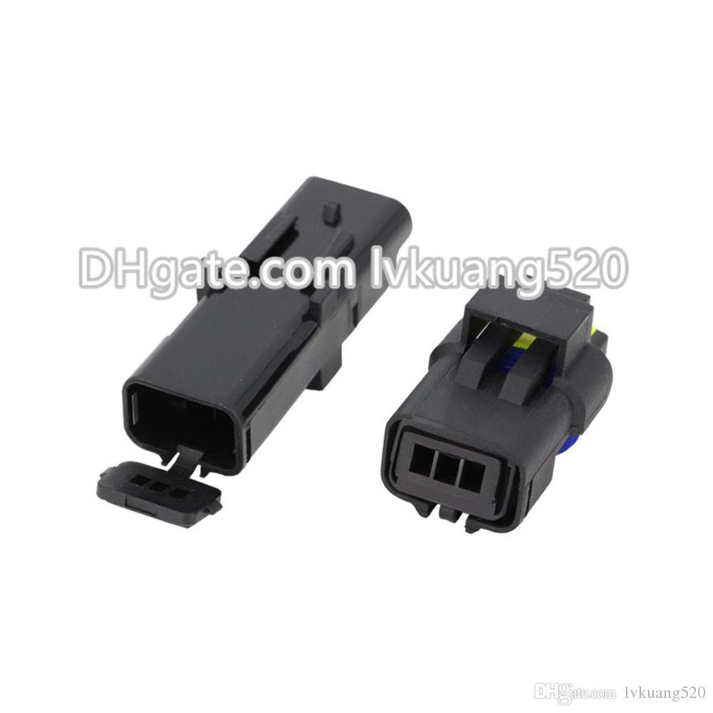 5 Conjuntos 3 Pin DJ7037Y-2.5-11 / 21 Conector Do Carro Conector Automotivo FO Turn Light Plug FOI Soquete FCI Conector Do Sensor Do Carro Para O Caminhão Auto