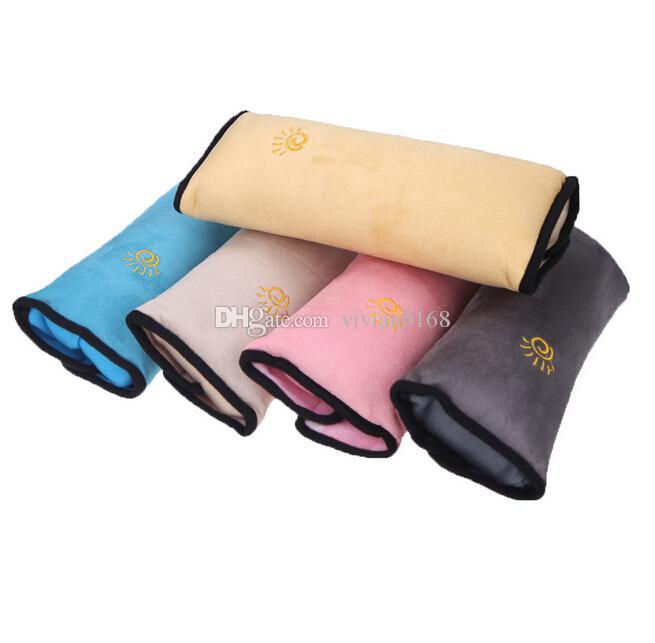 Baby Auto Kissen Auto-Sicherheitsgurt Schützen Schulter-Pad anpassen, Fahrzeug-Sicherheitsgurt Kissen für Kinder-Kinder-Sicherheit 5 Farben Kostenloser Versand