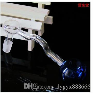 Los productos de cristal colorearon los accesorios del pote de la olla ahuecados, accesorios al por mayor de la cachimba, envío libre, grande mejor